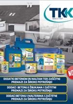 TKK-Dodaci betonu i malterima i zaštitni premazi za široku potršnju