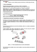 Uputstvo za izbor materijala-pripremu konstrukcija i kvalitet toplog cinkovanja