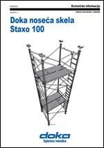 Doka noseća skela Staxo 100