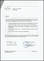 Rezultati ispitivanja opeke ciglane Todorović