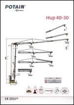 Katalog KIGO - Potain HUP40-30
