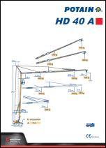Katalog KIGO - Potain  HD40A