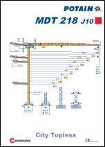 Katalog KIGO - Potain MDT218J10