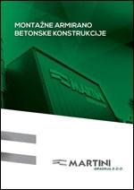 Martini gradnja-Montažne armirano-betonske konstrukcije