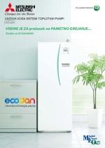 Klima M –Toplotna pumpa Zubadan-Ecodan