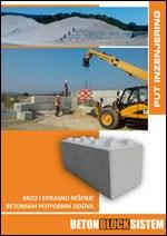 Put inženjering - Betonblock sistem