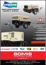 Mobilni kompresori i podbusivaci i rezervni delovi za betonske pumpe-Bomis
