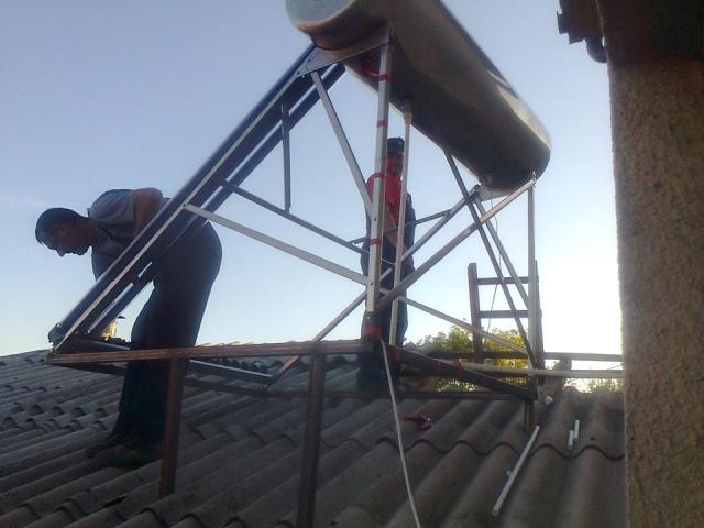 Instalacija solarnog sistema pod pritiskom - Zaječar