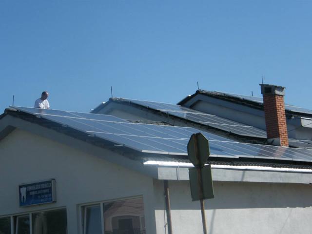 Solarna elektrana Mionica 1, snage 25kW