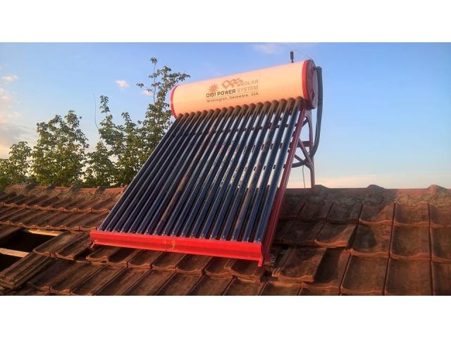 Montaža solarnog vakuum bojlera 195l - Kraljevo