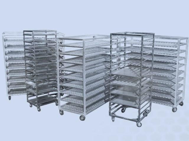 Konstrukcije-izrada metalnih kolica i polica