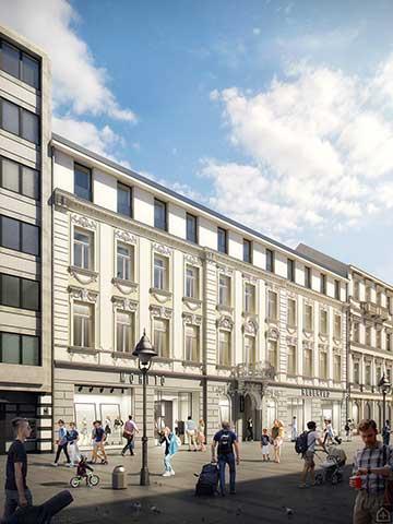Hotel Knez Mihailova, Beograd - 6.500m², 2019–2021.