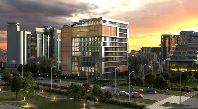 Poslovna zgrada Delta HQ, Beograd - 23.000m², 2020-2021.