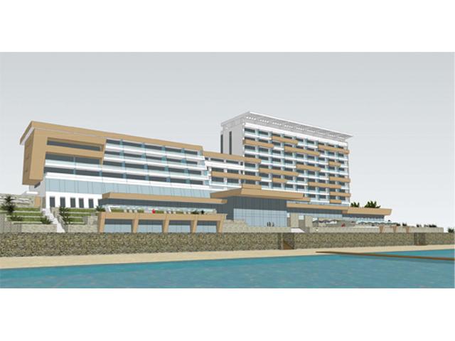 """Pansion """"Ay Pietri"""" 4*, Feodosija, Krim - Ukupna ostvarena površina: cca 21.000m2 Idejno rešenje rekonstrukcije i dogradnje Godina projektovanja: 2011."""