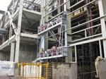 Projekat RTB Bor, Srbija - oprema: viseća radna platforma GEDA AB 650, visina dizajna  - 160 m, brzina dizajna - 8 m/min, kapacitet 650 kg