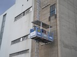 Projekat Thermal Plant, Kostolac, Srbija - oprema: GEDA ERA 1200 Z/ZP, visina dizanja  - 80 m, brzina dizanja - 12/24 m/min, kapacitet - 1000 kg