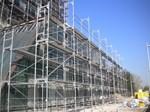 Projekat Hotel Crown Plaza, Beograd, Srbija - oprema: fasadna i modularna skela