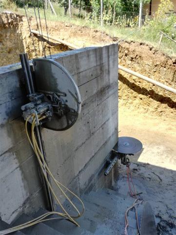 Dijamantsko sečenje betona