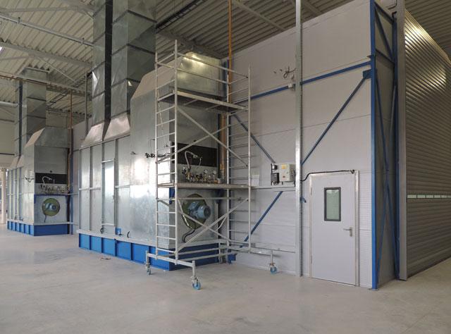 Kombinovana kabina i pogon kabine sa ventilatorima