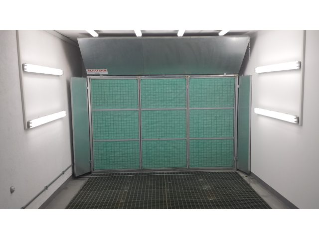Kabina za farbanje, tip KSF-3019