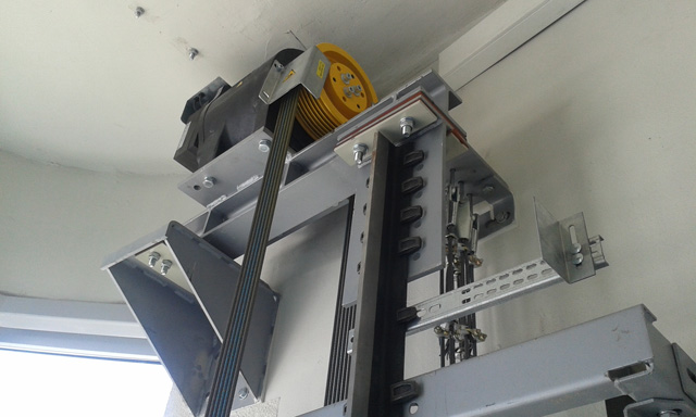 MRL električni lift bez mašinske kućice