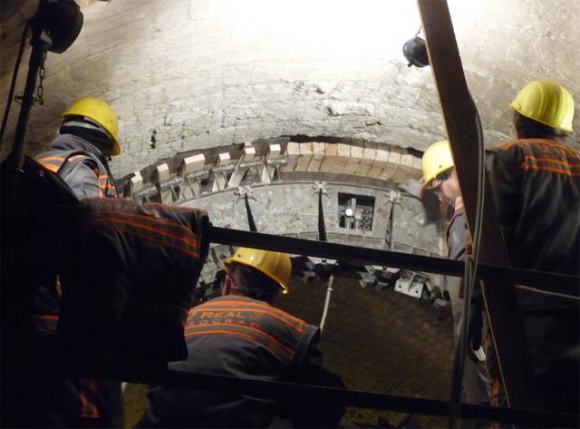 BFC Lafarge, 2010 - Remont peći