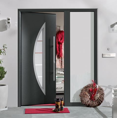 Kućna vrata ThermoPro - Hörmann nudi veliki izbor motiva za ThermoPro vrata od čelika. Ova vrata pružaju osećaj sigurnosti pomoću standardnog i višestrukog zaključavanja, štede energiju svojom izuzetnom toplotnom izolacijom i lepo će izgledati u svakom domu.