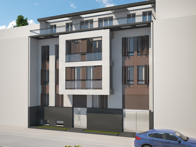 Stambeni objekat u ulici Rtanjska br.11 - Objekat će biti izgrađen od savremenog kvalitenijeg materijala, uklopljen u urbanističku celinu i kao takav će biti reprezentativan u tom delu grada.