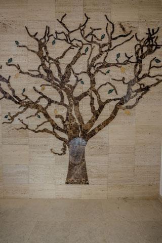 Ukrasno drvo od mermera