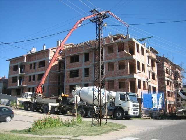 Transport i ugradnja betona