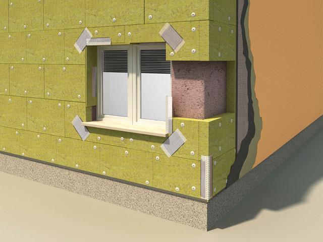 Kontaktna fasada sa kamenom vunom