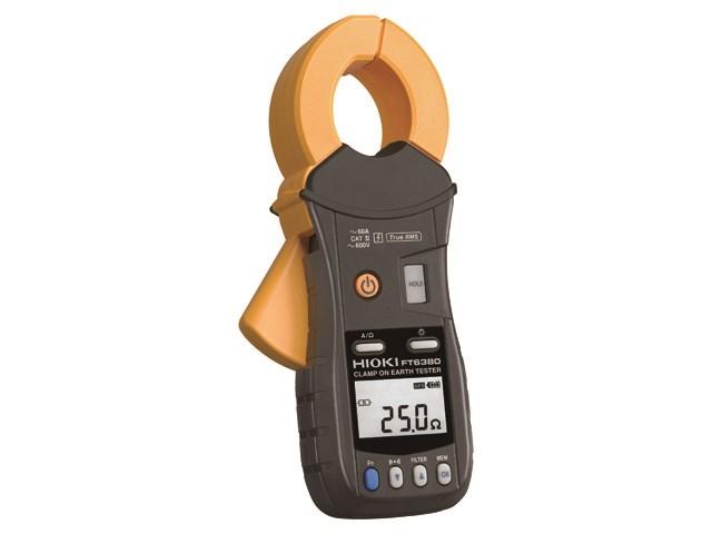 Hioki Japan klešta tester uzemljenja model  FT6380 - za primenu na višeuzemljenim sistemima - uskoprofilna klešta samo 20 mm široka za oba instrumenta tako da se oni mogu koristiti  za merenje uzemljenih žica koje su montirane u skučenim prostorima. Senzor je za 50% manji zapreminom od postojećih konkurentskih senzora.