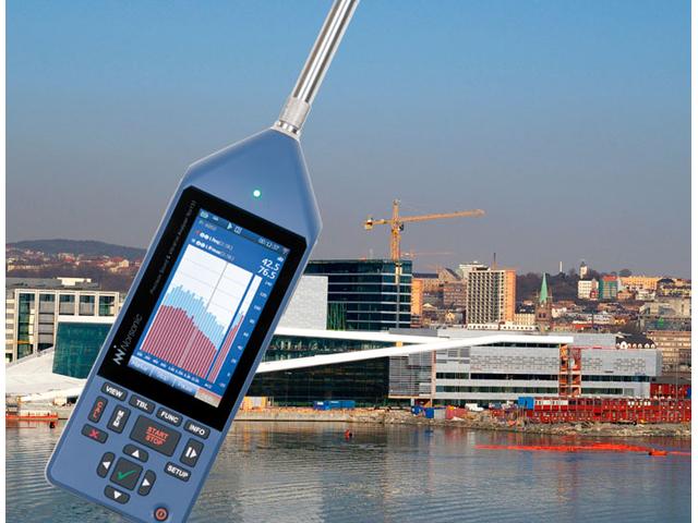 Precizni analizator zvuka i vibracija Nor150 - najveći kolor touchscreen ekran na ručnom mernom instrumentu na tržištu danas, nudi jednostavnost upotrebe poput smartphone uređaja. Od drugih svojstava uključeni su i ugrađeni web server, kamera, GPS, ugrađeni sistem za pomoć korisniku i napredne glasovne i tekstualne napomene donoseći na teren prefinjenost koja se normalno nalazi kod laboratorijske instrumentacije. Ovaj instrument je dvokanalni analizator dizajniran da pokrije razne primene poput procene ambijentalne buke, zvučne izolacije i merenja intenziteta zvuka među mnogim drugim mernim zadacima.