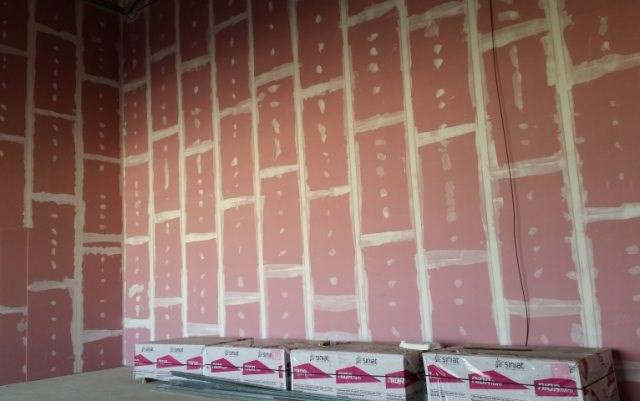 Primena Siniat visokih akustičnih zidova u bioskopima