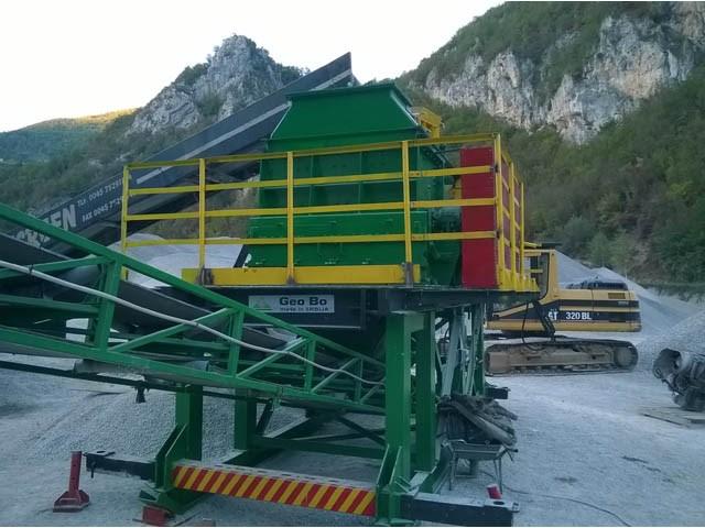 Polumobilna drobilica - polumobilno postrojenje do 150 t/h