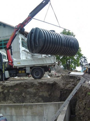 Rezervoari za ukop-Ugradnja-Automatsko podizanje