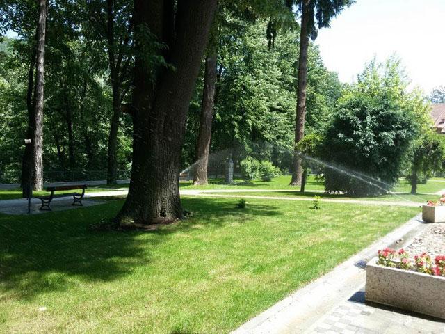 Prskalice u parku u Ivanjici