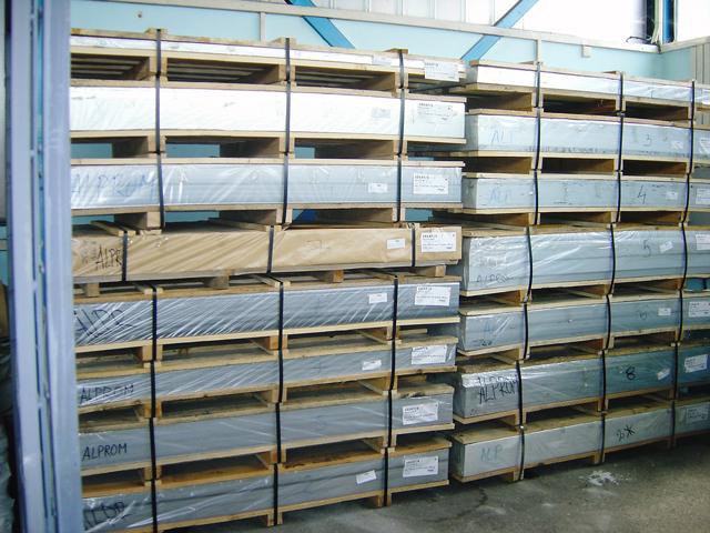 Veleprodaja i maloprodaja aluminijumskih i pocinkovanih i plastificiranih limova
