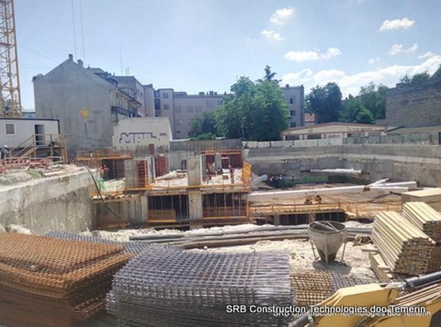 Pupinova Palata - N. Sad 2017 početak gradnje
