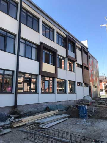 Fiber cement - Osnovna škola