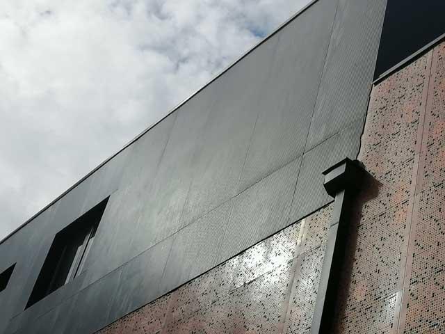 Fiber cement - Kineski kulturni centar