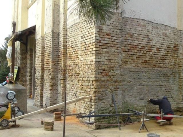 Hidroizolacija crkve, Banat