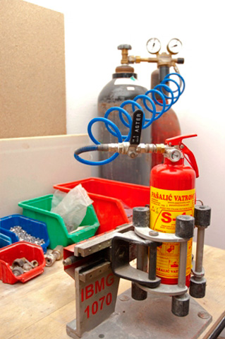 Servisiranje vatrogasne opreme