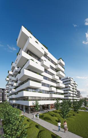 Stambeno-poslovni kompleks Blok 32 Novi Beograd - eksterijer
