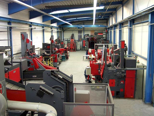 Laboratorija za sačmarenje u Nemačkoj