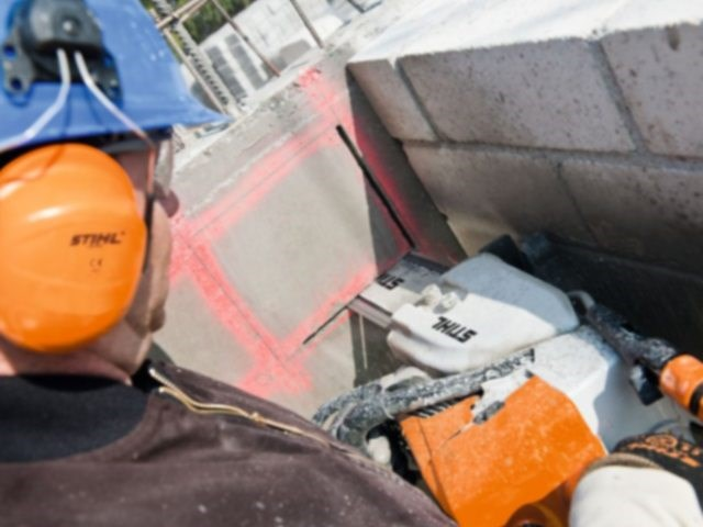 Motorna testera za beton