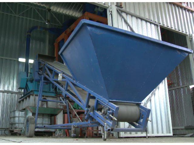 Postrojenje za pripremu kaše od izolacionih materijala
