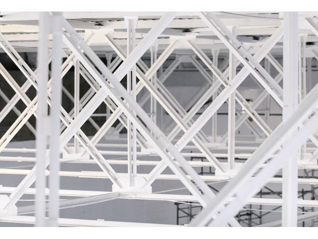 Čelična konstrukcija zaštićena premazom Firestop steel