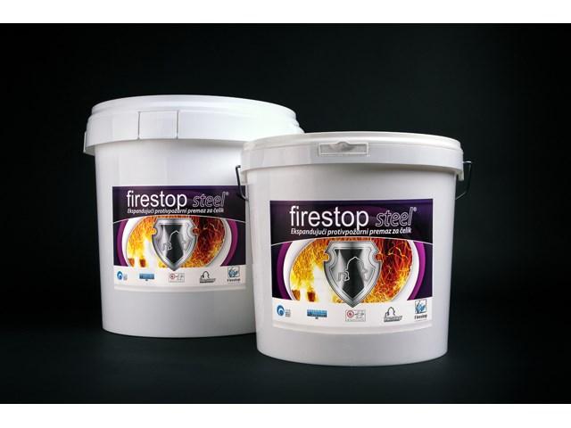 Firestop steel - pp premaz za zaštitu čelika