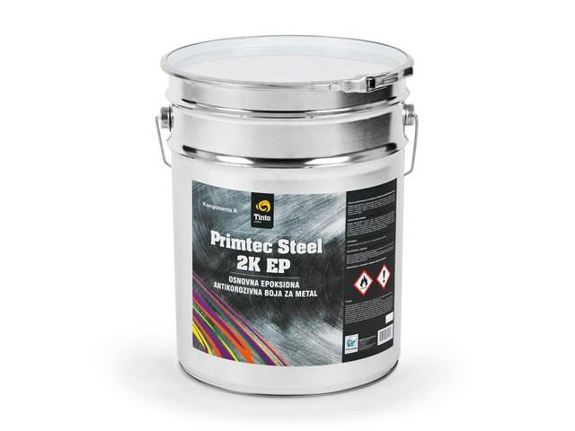 Primtec steel 2K EP - osnovna epoksidna antikorozivna boja